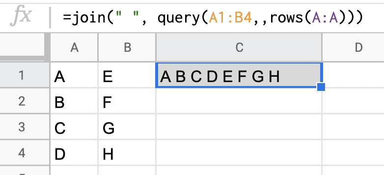 JOIN & QUERY functions
